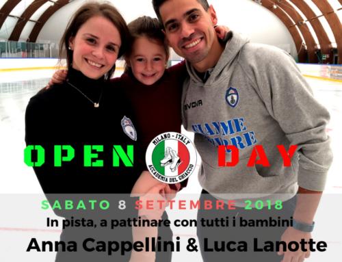 Open Day 8 Settembre 2018